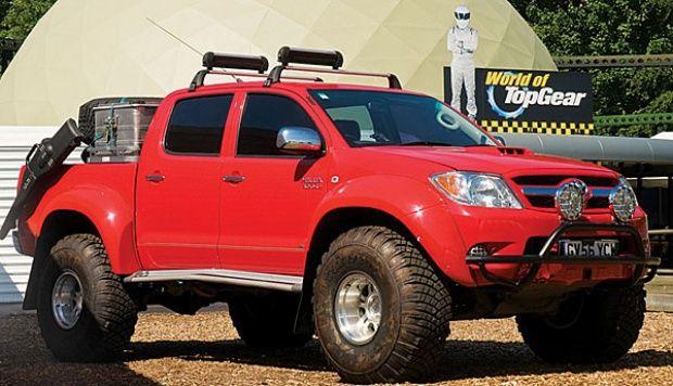 Modifikasi Mobil Toyota Hilux