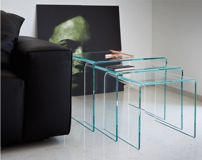 17 best images about meubles en verre courb on pinterest - Tables basses design italien ...