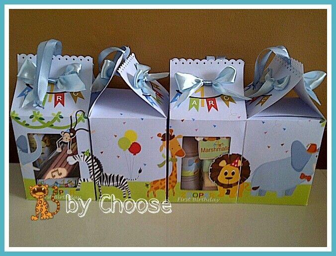 Zoo Birthday Souvenir by Choose me
