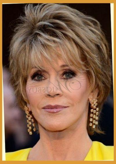 Jane Fonda Cute Hair Style In 2019 Short Hair Styles