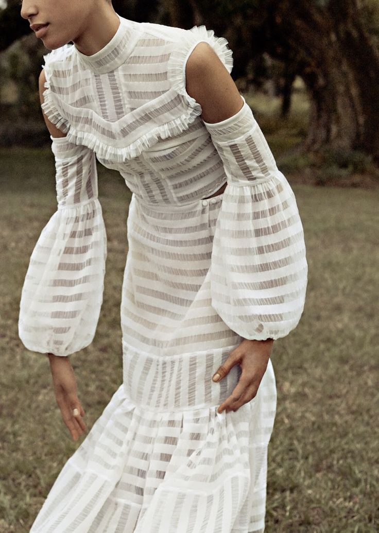 that dress...photographed by cass bird for porter #13 spring 2016