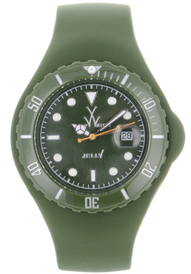 Price:$92.50 #watches ToyWatch JTB20HG, Plastic case, Silicone Strap, Green dial, Quartz movement, Scratch-resistant mineral, Water resistant mineral, Water resistant up to 5 ATM - 50 meters - 165 feet