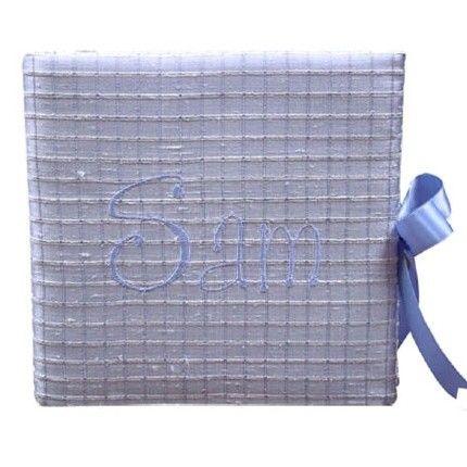Silk Squares Baby Photo Album