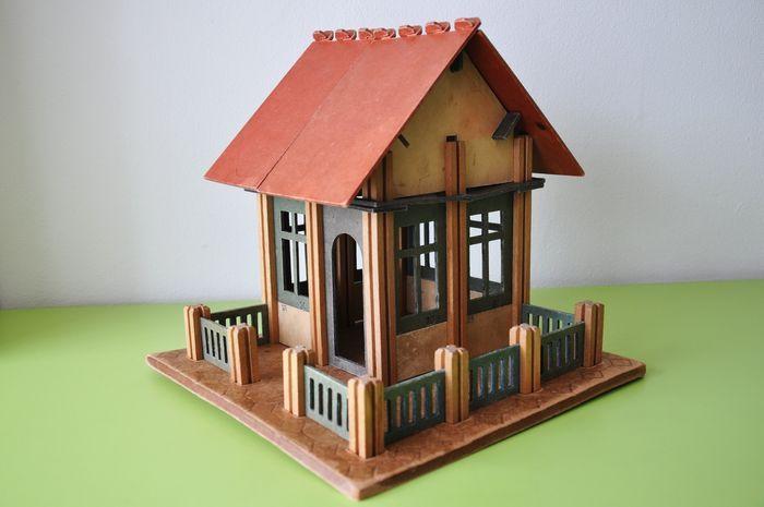 """Online veilinghuis Catawiki: Speelgoed """"Mobaco"""" bouwdoos - Nederland - ca. 1930"""