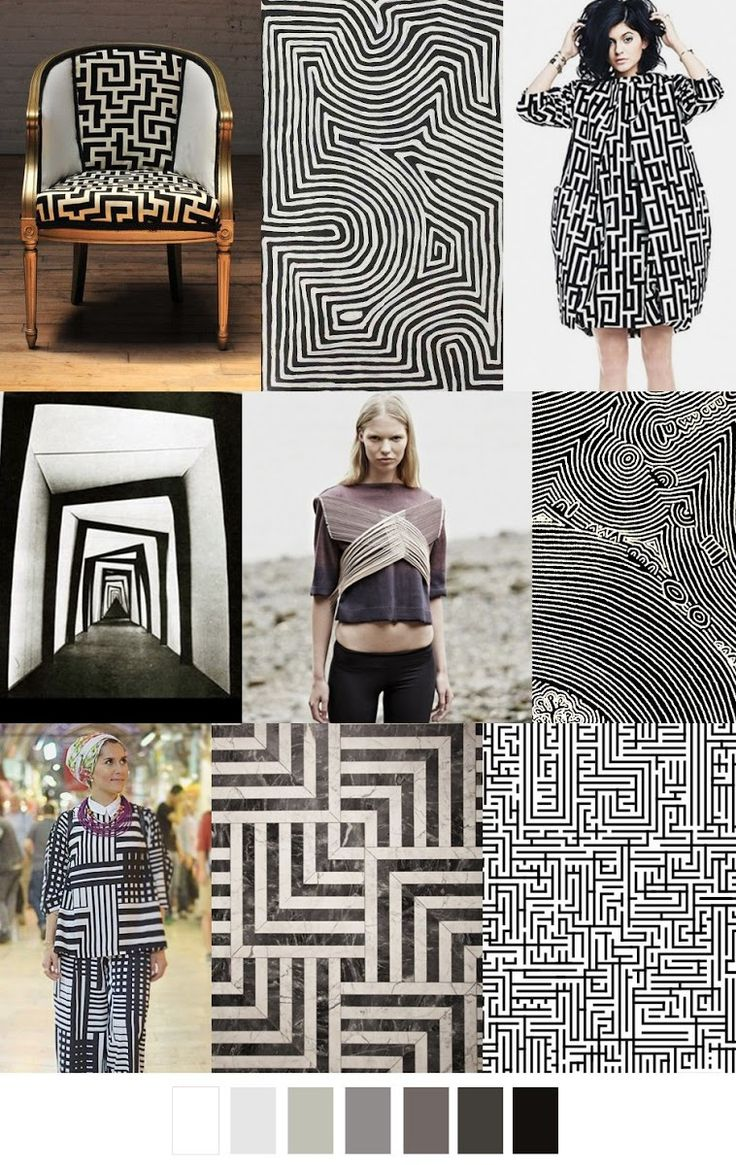 FASHION VIGNETTE: TRENDS // PATTERN CURATOR - COLOR + PATTERN . SS 2017