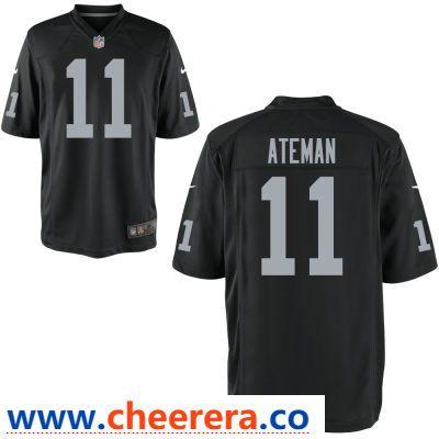 Men's Oakland Raiders #11 Marcell Ateman Black Team Color Stitched  hot sale