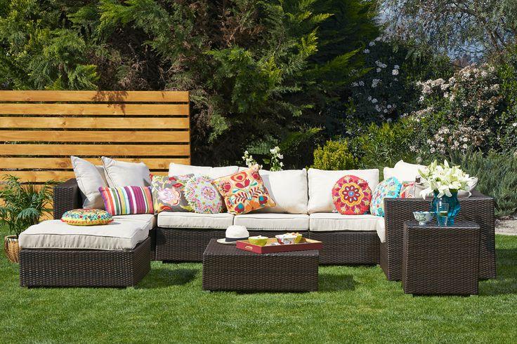 En primavera se usan colores fuertes decora tu terraza - Accesorios terraza ...