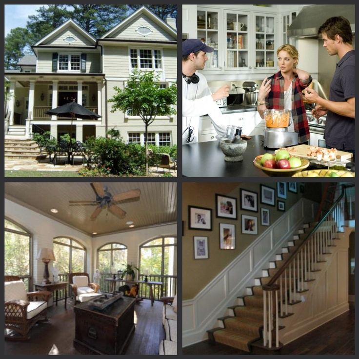 Katherine Heigl and Josh Duhamel's home in the movie 'Life As We Know It'.