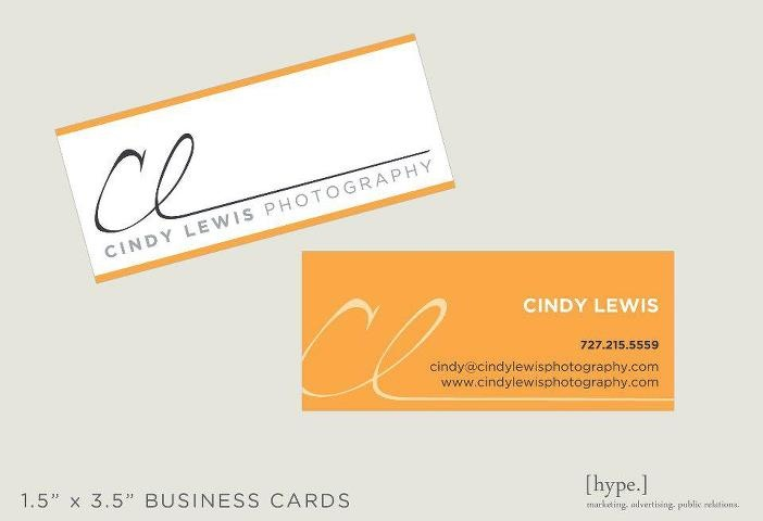 #BusinessCard #Design for Cindy Lewis #Photography    www.hypegroup.net