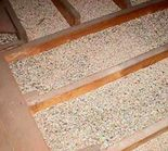 Loosefill vermiculite can be used between joists in lofts for home insulation. The free flowing properties of exfoliated vermiculite make installation very simple. The insulating properties of vermiculite significantly reduce the loss of heat in cold weather and keep the interior cool in hot weather. It also functions as a sound absorbent material.