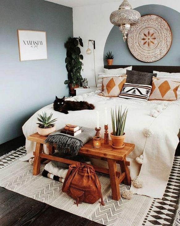 38 Beautiful Inspiring Bohemian Apartment Decor On A Budget