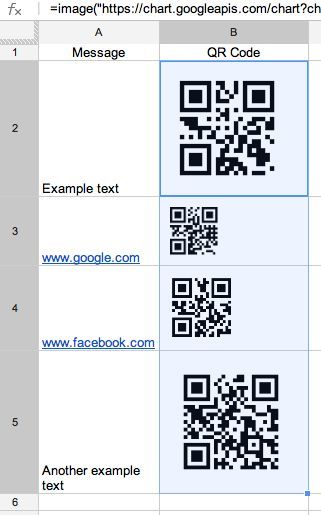 10 Steps to autogenerate QR Codes in Google Spreadsheets. Very simple; copy the formula and you'll get it.