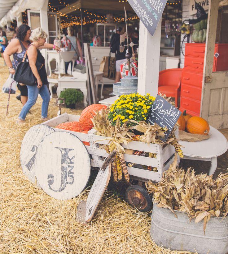 Hobnob Harvest Market 2016 : Effingham County Fairgrounds : Altamont, Illinois