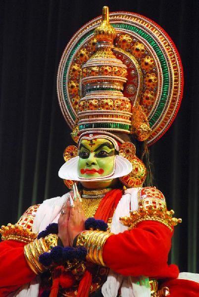 Kathakali Dancer, Kerala