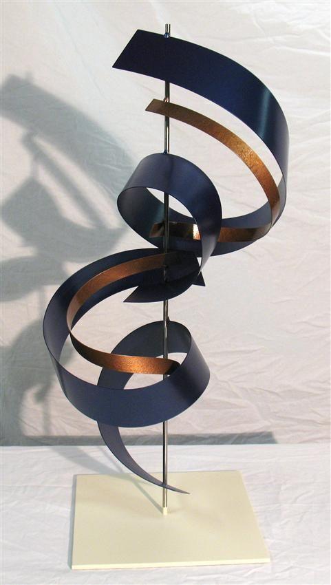 "Contemporary Metal Sculptures | Contemporary Metal Art Sculpture ""G72 Custom 2"""
