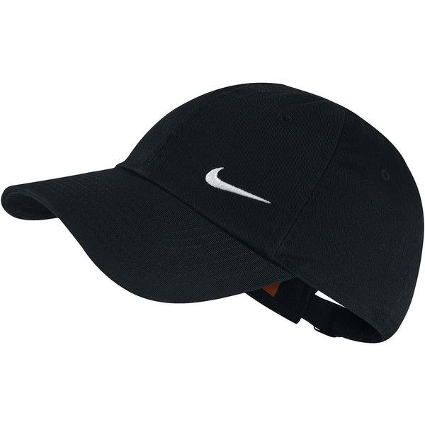 Nike Heritage Cap found on Polyvore featuring accessories, hats, caps hats, nike cap, embroidered caps, nike and embroidered hats