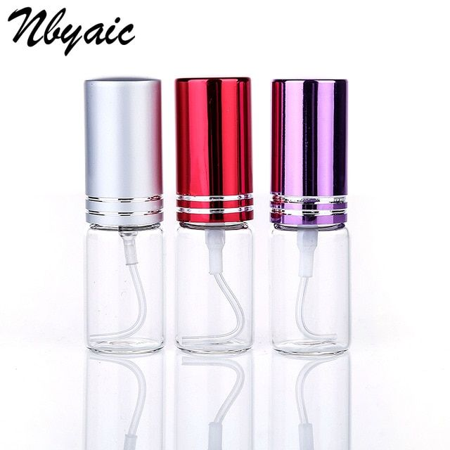 5pcs Mini Portable 10ml Perfume Spray Bottle Spray Bottle Reusable Empty Cosmetic Container Travel Lady Pull Tube Empty Refillable Bottles Bottle Spray Bottle