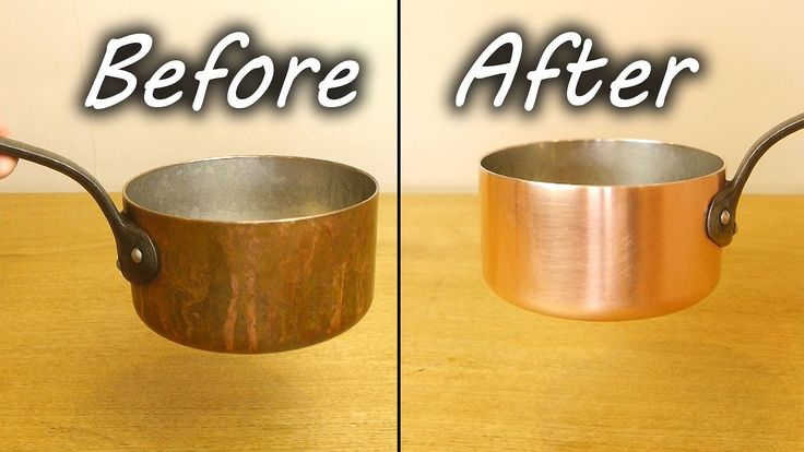 how to clean lagostina copper pots