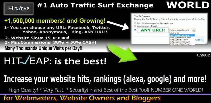 Get Tons Free Traffic. Several Proven Ways To Get Free Traffic