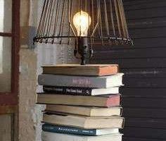 Woontrendz-lamp-gemaakt-met-oude-boeken