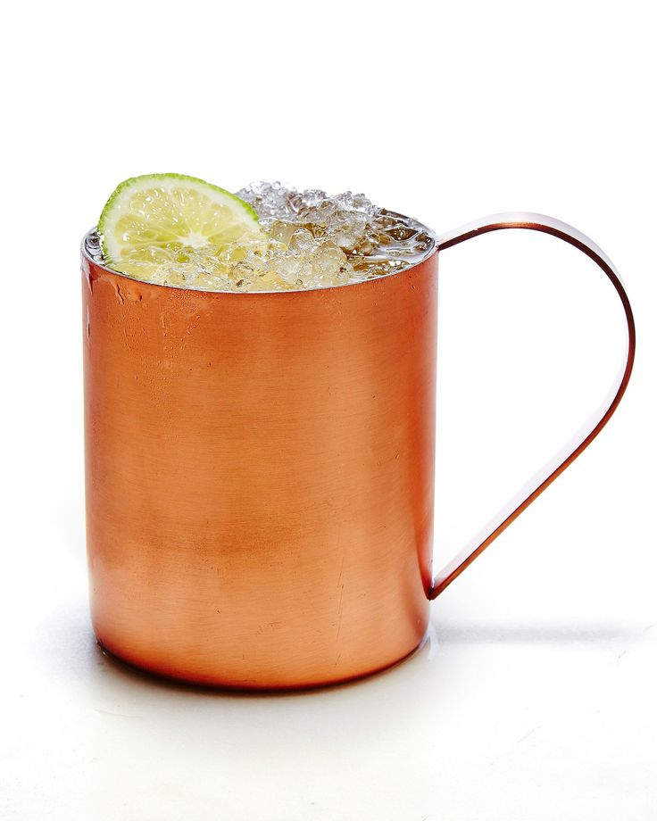 The trifecta of vodka, lime juice, and ginger beer in this classic cocktail doesn't get old, especially if it's served in a festive copper mug. Try turning it into a Melon Mule with cantaloupe- and mint-infused vodka in the summertime or jazz it up with homemade cranberry syrup for a holiday party-ready Cranberry Mule.