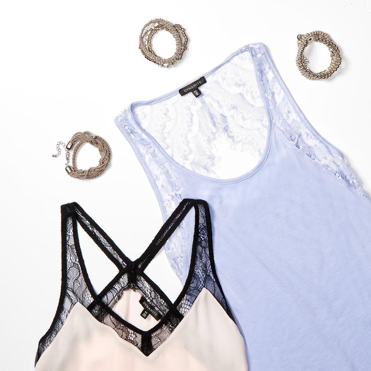 A little touch of lace to complete your outfit.