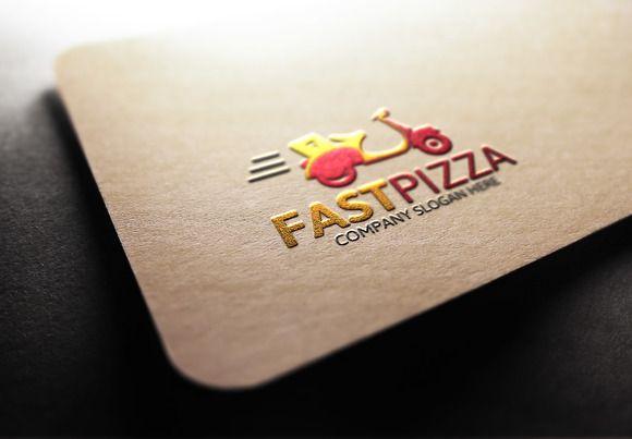 Pizza Logo Template by Josuf Media on @creativemarket