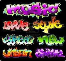 graffiti lettering!<3