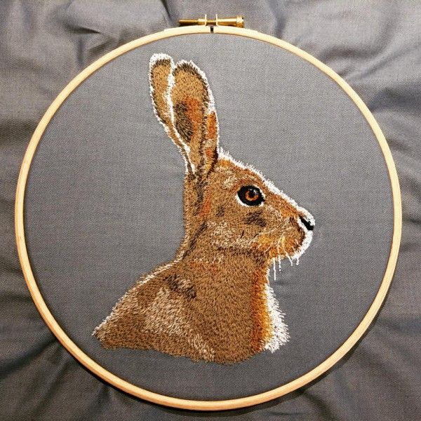 90 Best My Art Images On Pinterest Animal Portraits Textile Art