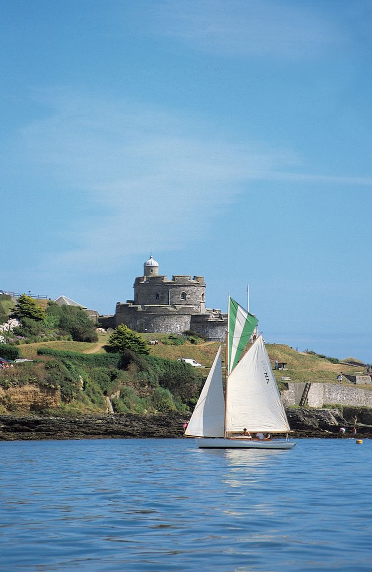 St Mawes Castle, Cornwall - Built in 1340 by Henry VIII to protect the south coast of Cornwall