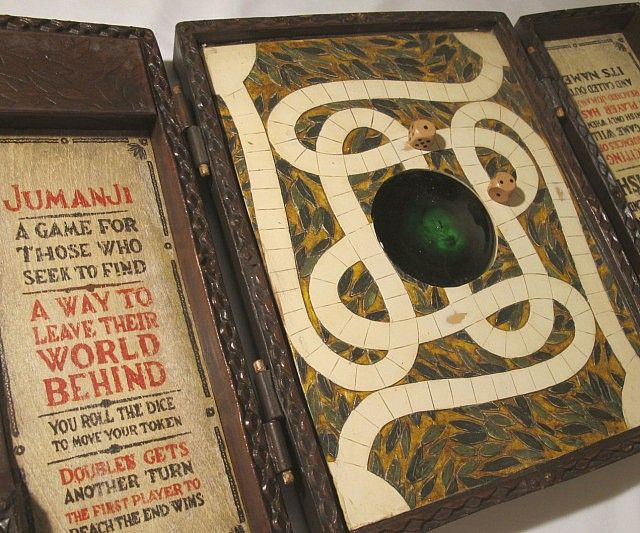 Tear your family apart on game night by embarking on the adventure of a lifetime by playing with the replica Jumanji board game. Featuring magnetic pieces and game rules printed onto real wood, this movie quality replica makes an ideal gift for any cinefile.