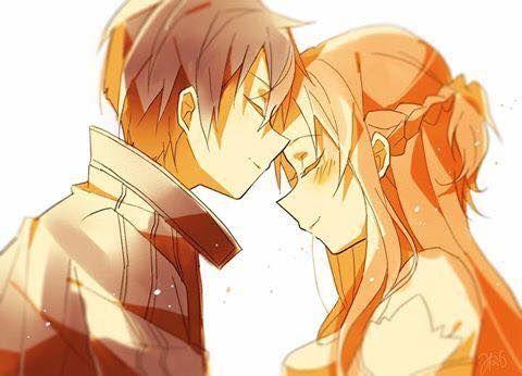 Kirito (Kazuto) & Asuna (Yuuki Asuna) - By Sword Art Online ღ