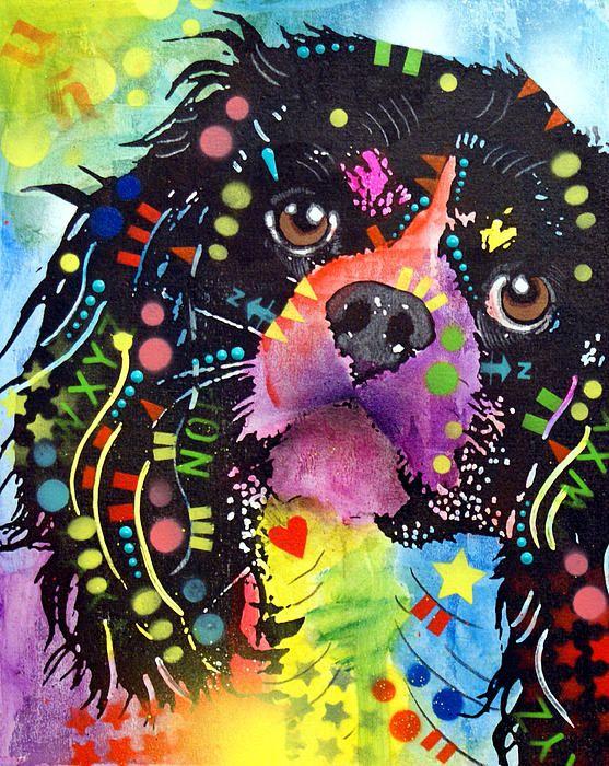 king charles spaniel canvas print canvas art by dean russo - Dean Russo