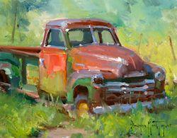 rusty truck-bryan mark taylor