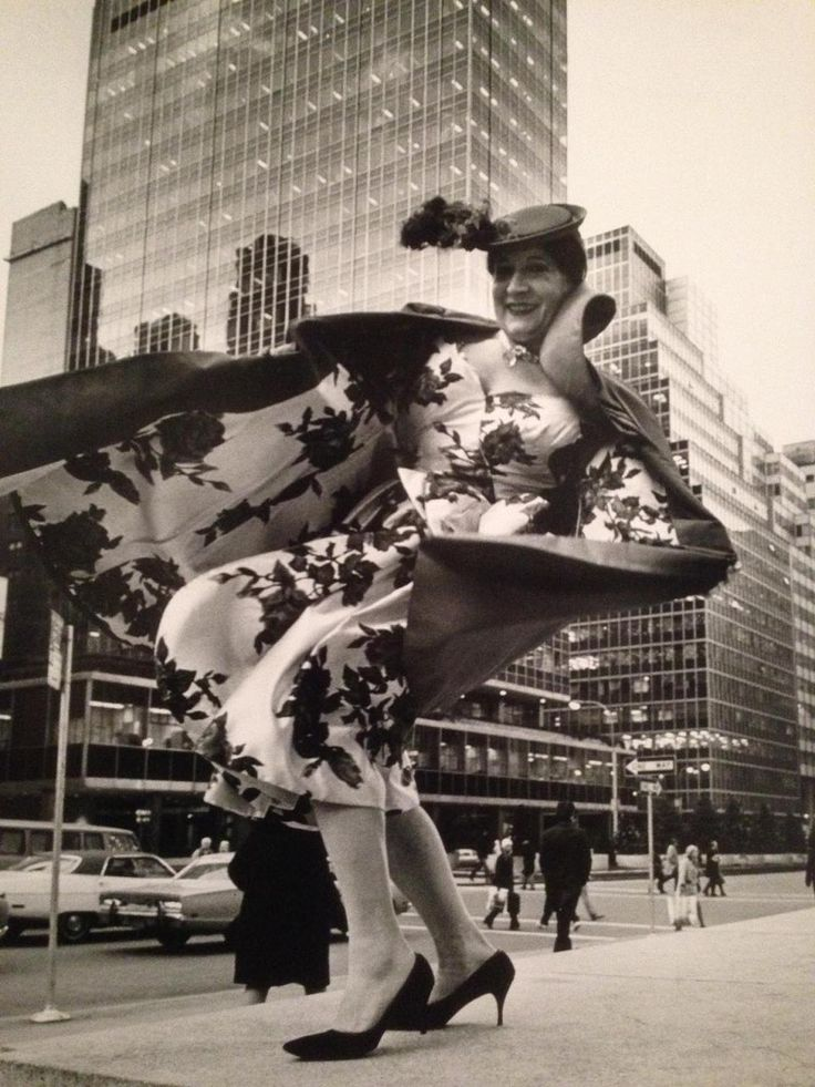 A windy photo from Facades & the Cityscape, 1968-1976 by Bill Cunningham