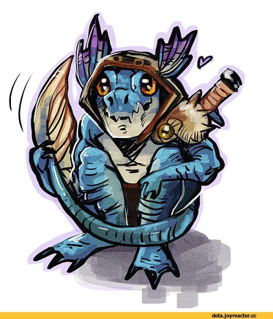#Dota2 Slark the Nightcrawler,Dota,фэндомы,Dota Art,Игровой арт,game art,Игры,squiggitysquid