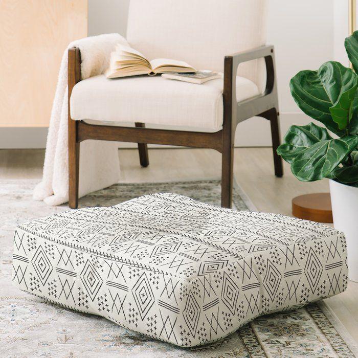 Caroline Okun Moorish Moroccan Square Pillow Cover Insert Square Floor Pillows Moroccan Floor Pillows Floor Pillows