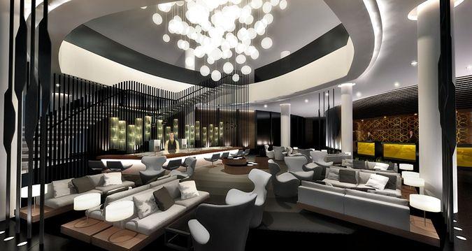 Hilton Tallinn Park Hotel, Estonia - Lobby  www.dsign.fi