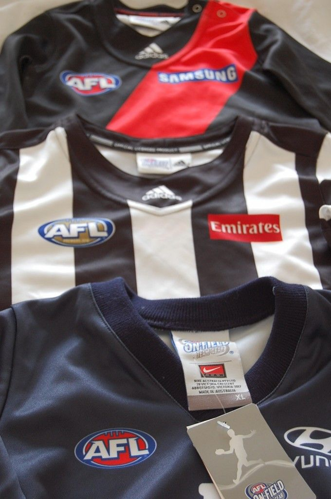 Baby AFL Footy Jumpers