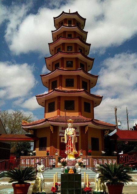 Buddhist temples in Vietnam,USA