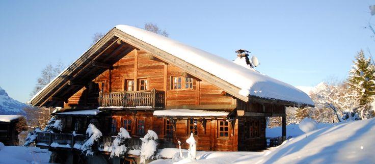 Chatel on ylellinen alppihuvila Ranskan Alpeilla.