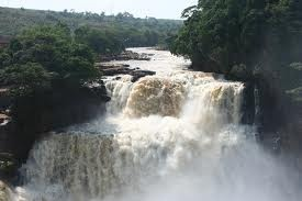 DEMOCRATIC REPUBLIC OF THE CONGO - Zongo Falls - These easy to get to falls are part of the Congo River.