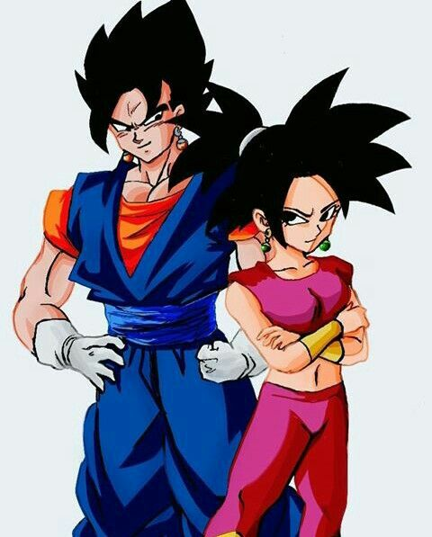 Vegetto and Kefla <3