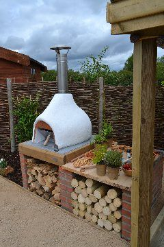 Wood Fired Pizza Ovens, Dome Homes,Chimineas From Dingley Dell Enterprises - loveyourgarden