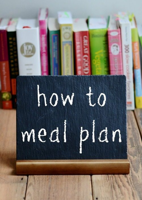 How to meal plan| Real Food Real Deals