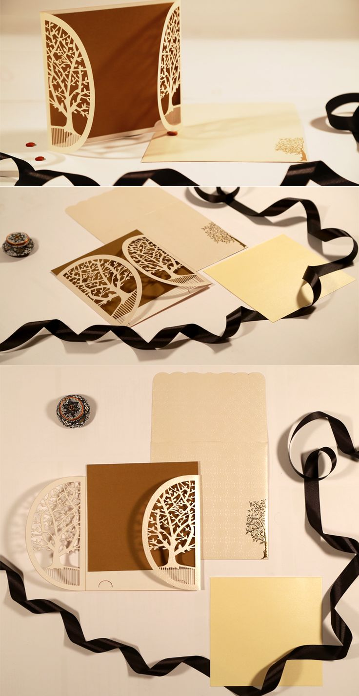 indian wedding cards wordings in hindi%0A Modern  u     Rustic Nature Inspired Laser Cut Wedding Invitations   WeddingInvitations  IndianWeddingCards  LaserCut