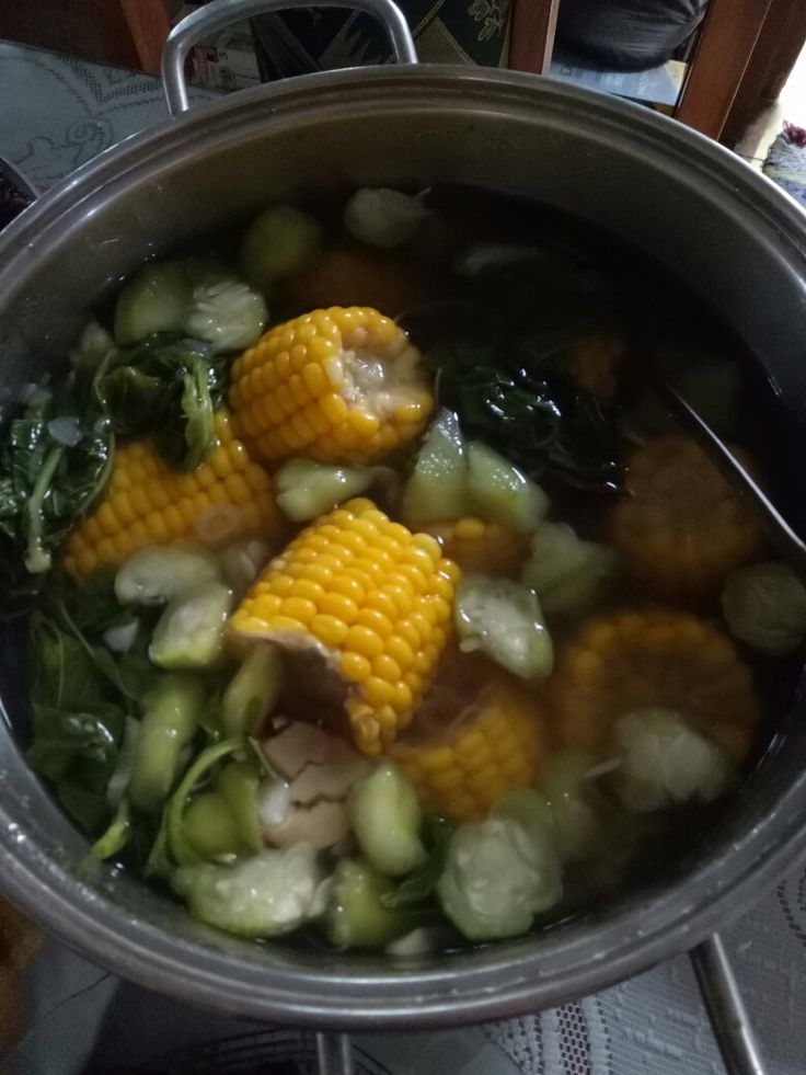 Indonesian Vegetable Cleae Soup ( Sayur Bening)