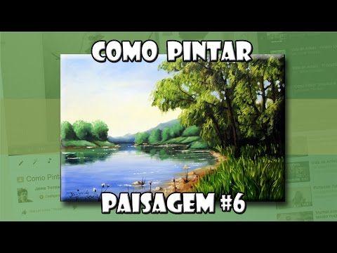 Como Pintar: Paisagem #6 (Passo a Passo) - YouTube