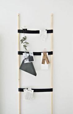 // DIY kitchen notice board