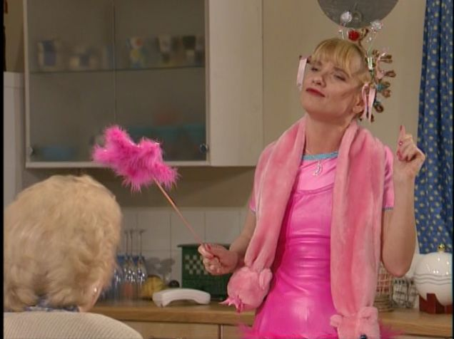 """Bubble Ab Fab: """"You have a sister (a sister...a sister... a sister)"""""""